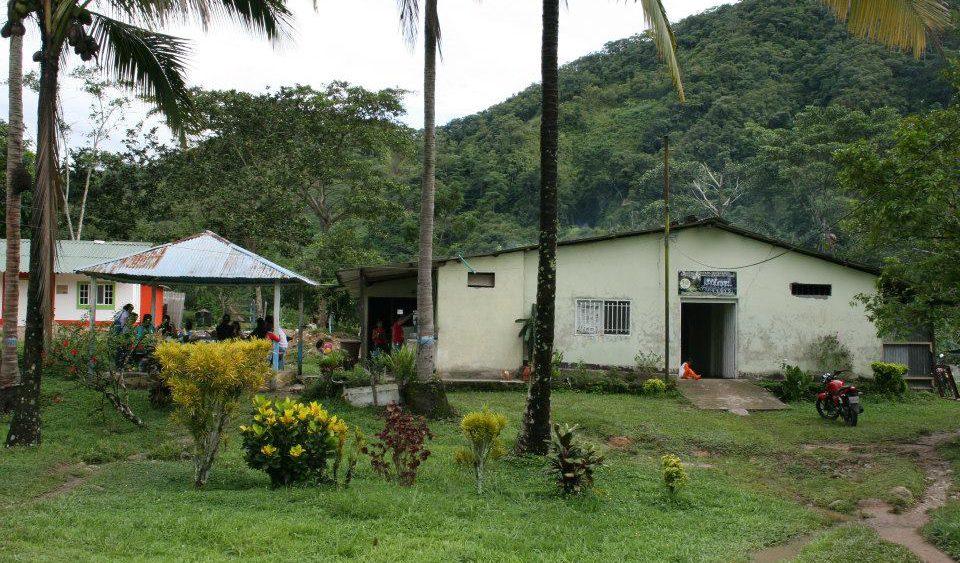 Un des locaux du programme Niños de Paz, ACNUR - ECHO; Catacumbo
