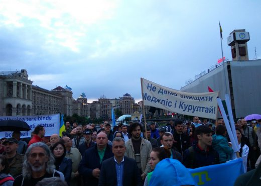Memorial day of deportation of thhe Crimean tatars in Kyiv