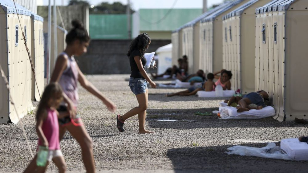 refugiés vénézuéla roraima