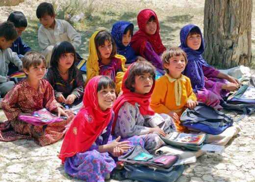 Jeunes afghanes