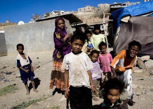 Enfants akhdam à Taizz