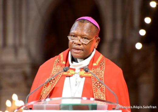 RDC, le cardinal Ambongo, vice-président de la CENCO, l'une des plus importante des instances religieuses