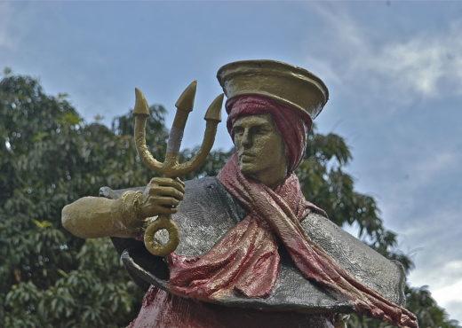 Exu, une des divinités afro-brésiliennes (orixá).
