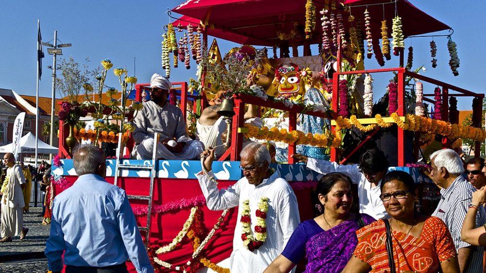 Fête de la communauté hindoue portugaise