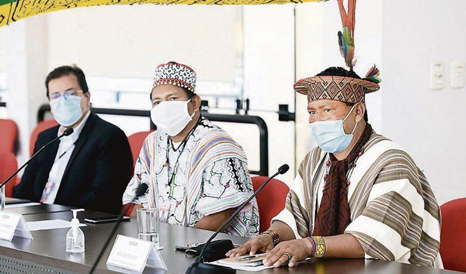 Des chefs indigènes se rendent à Lima pour défendre leurs droits