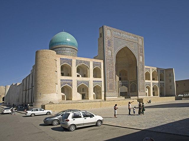 Madrasa Mir-i Arab à Boukhara (Ouzbékistan)